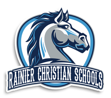 Rainier Christian  Softball Logo