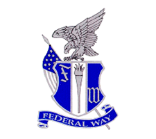 Federal Way  Volleyball Logo