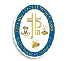 Pope John Paul II  Volleyball Logo