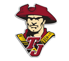 Thomas Jefferson  Cheer Logo