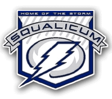Squalicum  Girls Wrestling Logo