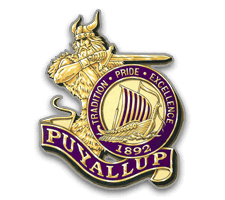 Puyallup  Football Logo