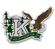 Klahowya  Girls Basketball Logo