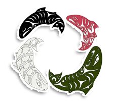 Muckleshoot Tribal School  Volleyball Logo