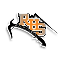 Rainier  Volleyball Logo
