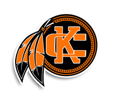 Kalama  Girls Basketball Logo