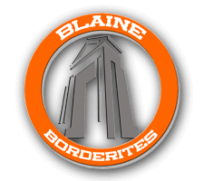 Blaine  Boys Cross Country Logo