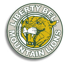 Liberty Bell  Softball Logo