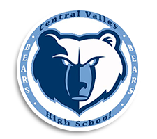 Central Valley  Girls Track Logo