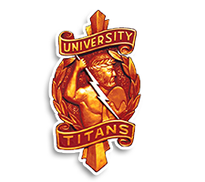 University  Girls Tennis Logo