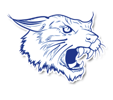Lynden Christian  Co-Ed Track Logo