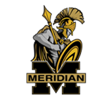 Meridian Trojans Girls Cross Country Logo