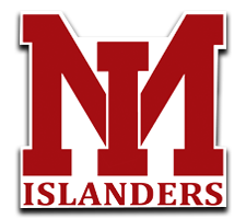Mercer Island  Girls Basketball Logo