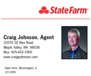 sponsor: Craig Johnson, State Farm Agent