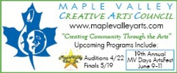 sponsor: Maple Valley Creative Arts Council