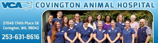 sponsor: VCA Covington Animal Hospital