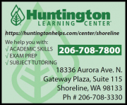 sponsor: Huntington Learning Center