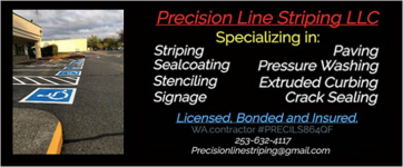 sponsor: Precision Line Striping